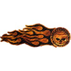 Наклейка Fire Harley Davidson