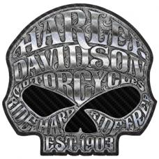 Наклейка Skull Harley Davidson