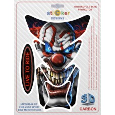 Наклейка Evil Сlown (Злой клоун)