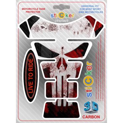 Наклейка Skull Of The Punisher (Череп карателя)