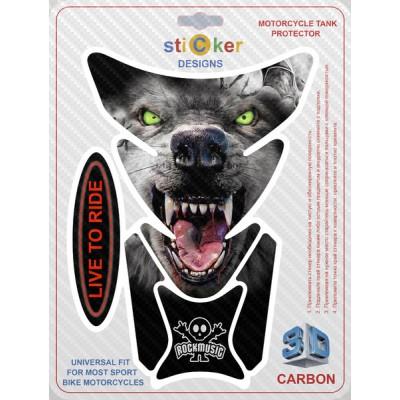 Наклейка Wolf Vampire