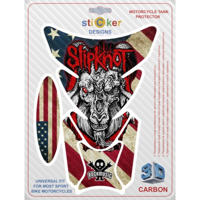 Наклейка USA Flag - Slipknot