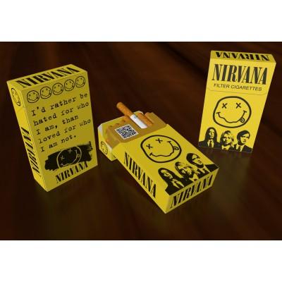 Футляр для сигарет Nirvana
