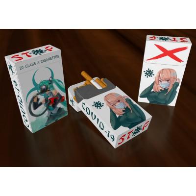 Футляр для сигарет COVID-19