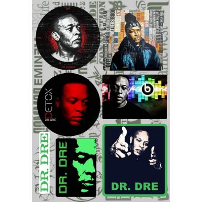 Наклейки - стикерпак - Dr. Dre