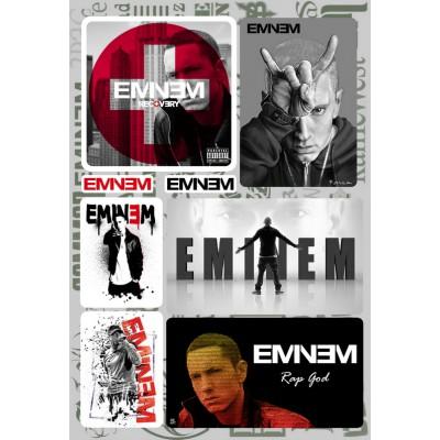 Наклейки - стикерпак - Eminem
