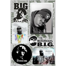 Наклейки - стикерпак - Notorious BIG