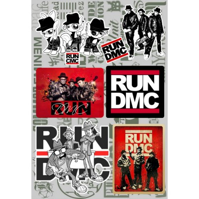 Наклейки - стикерпак - Run-DMC