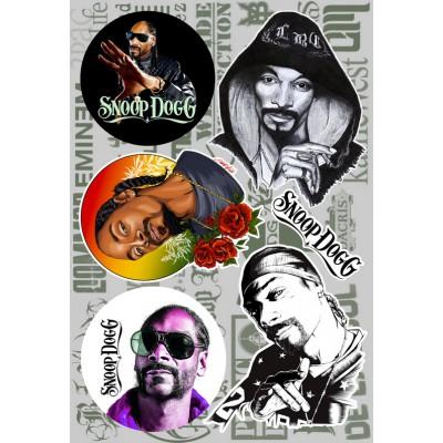Наклейки - стикерпак - Snoop Dogg