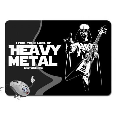 Коврик для мышки - Heavy Metal - Darth Vader