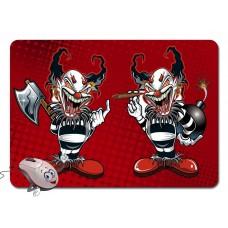 Коврик для мышки - Evil Clown (Злой Клоун)