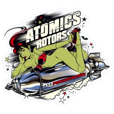 Наклейка Atomics Rotors