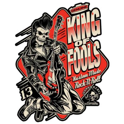 Наклейка  King Of Fools