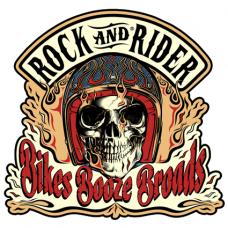 Наклейка Rock And Rider