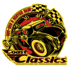 Наклейка Coast Classics