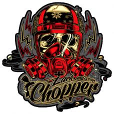 Наклейка Chopper