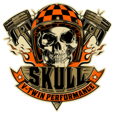 Наклейка Skull