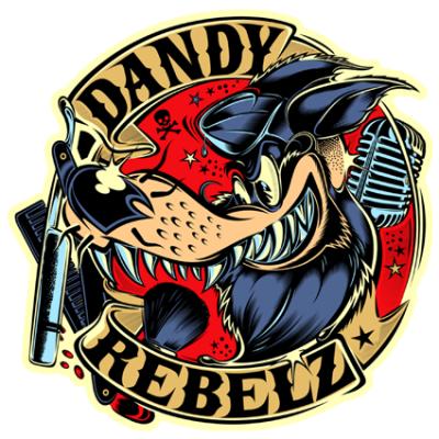 Наклейка Dandy Rebelz