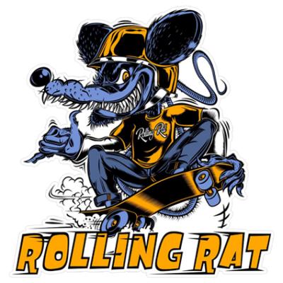 Наклейка Rolling Rat