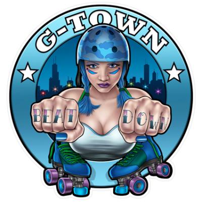 Наклейка Beat Down