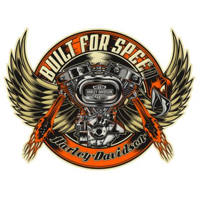 Наклейка  Harley Davidson