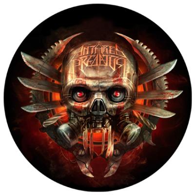 Наклейка Metal Skull