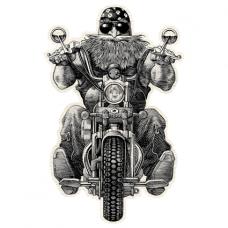 Наклейка Biker (Байкер)