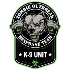 Наклейка Zomdie Outbreak