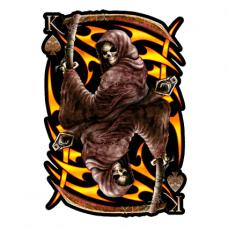 Наклейка Death With A Scythe (Смерть с косой)