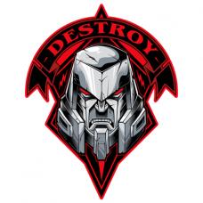 Наклейка Destroy