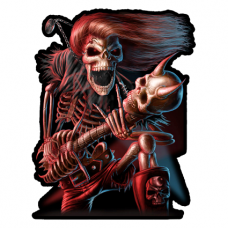 Наклейка Death Hard Rock