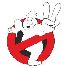 Наклейка Ghostbusters (Охотники за привидениями)