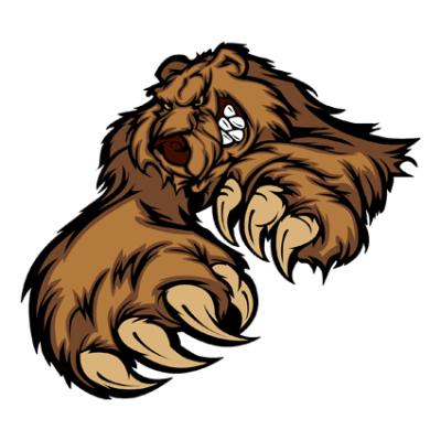 Наклейка Bear (Медведь)
