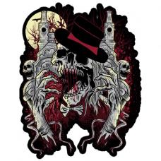 Наклейка Skull Magician