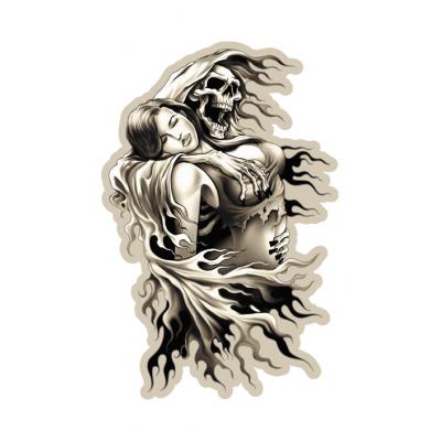 Наклейка Death And Girl