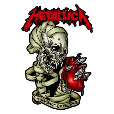 Наклейка Metallica
