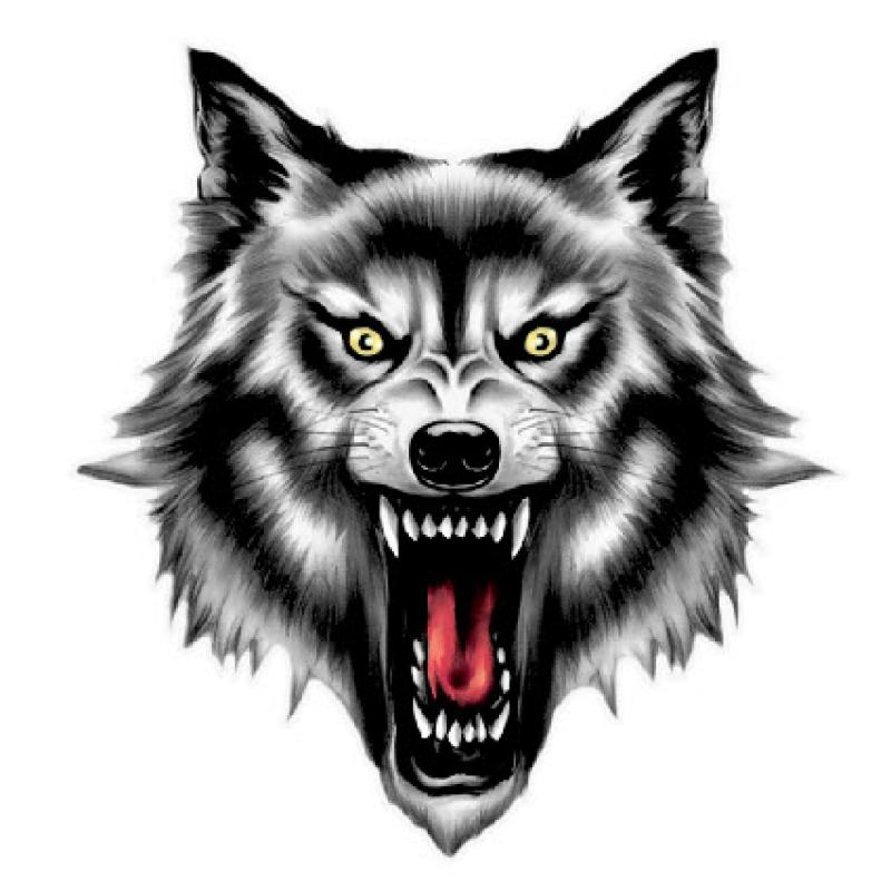 Картинка стальной волк