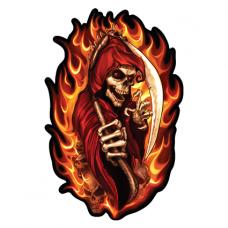 Наклейка  Fire Skull