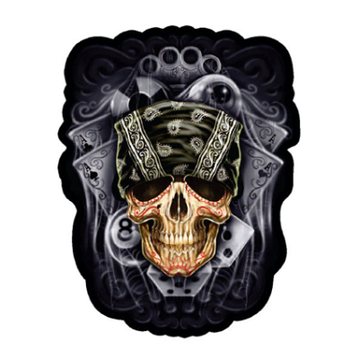 Наклейка Skull With Bandana