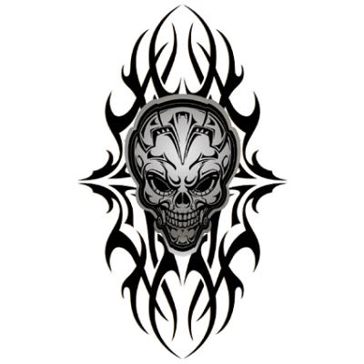 Наклейка Skull Tatoo