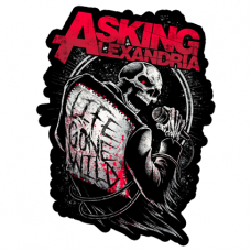 Наклейка Asking Alexandria