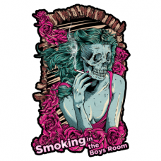 Наклейка Smoking Skull