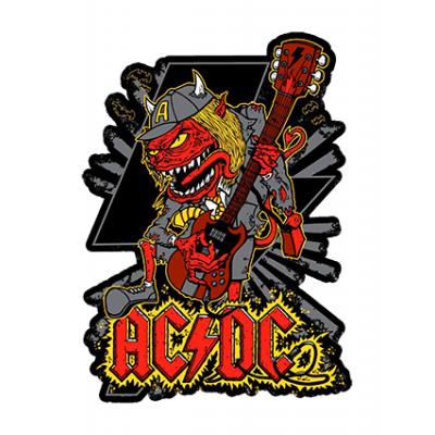 Наклейка AC DC