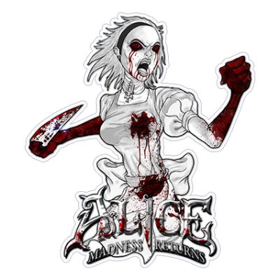 Наклейка ALICE