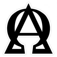 Наклейка  Alpha And Omega