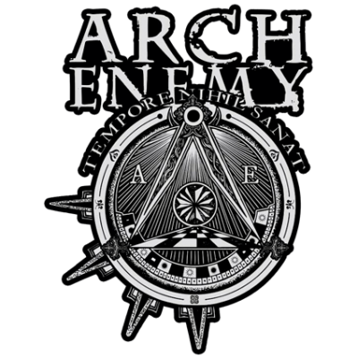 Наклейка Arch Enemy Tempore Nihil Sanat
