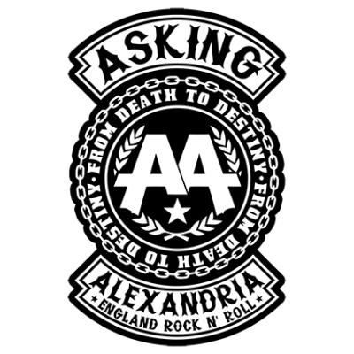 Наклейка Asking Alexandria