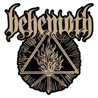 Наклейка Behemoth The Satanistfall Out Boy