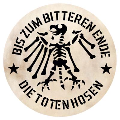 Наклейка Bis Zum Bitteren Ende