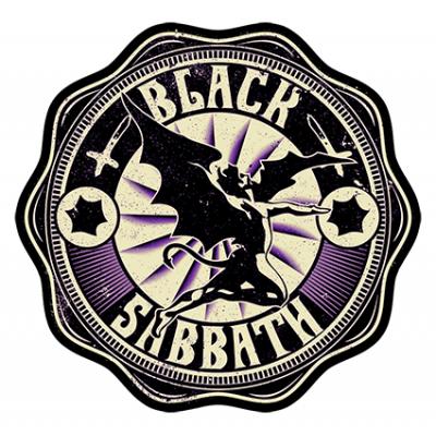Наклейка Black  Sabbath